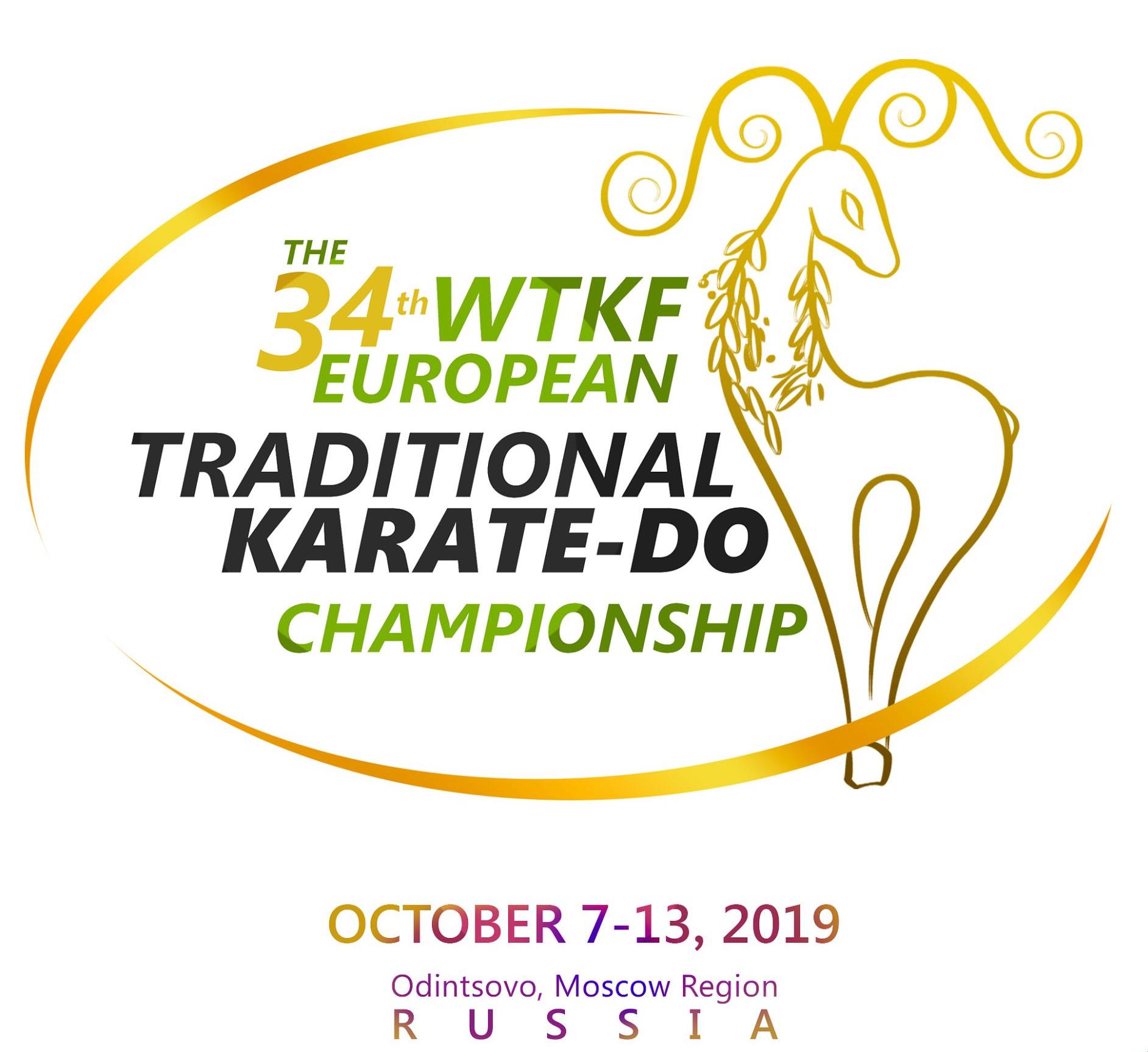 34th WTKF TRADITIONAL KARATE-DO EUROPEAN CHAMPIONSHIP