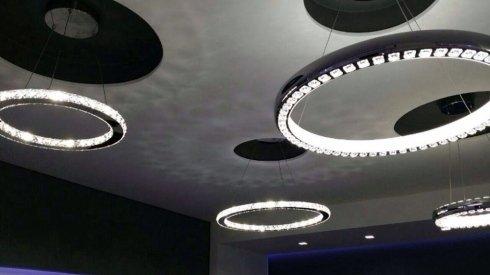 illuminazione per locali a soffitto