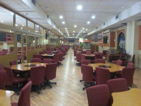 dettaglio interno bar e ristorante