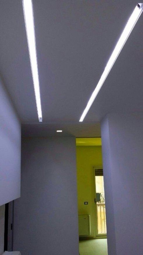 illuminazione corridoio