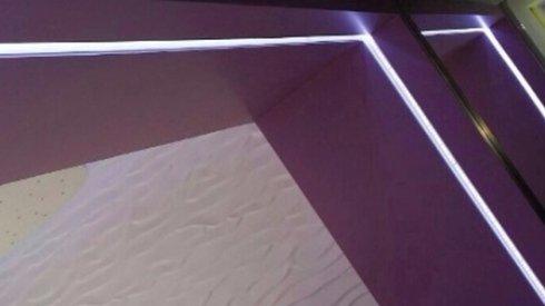 dettaglio illuminazione moderna