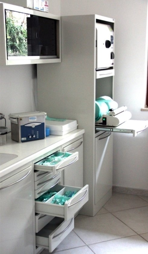 laboratorio sterilizzazione