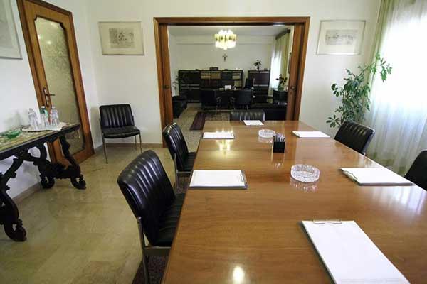 Interno dello Studio Legale di Palermo