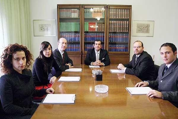 Il team dello studio Legale Di Legami a Palermo