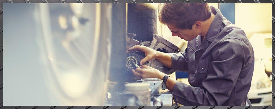 mechanic repairing