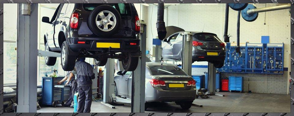 cars for MOT servicing