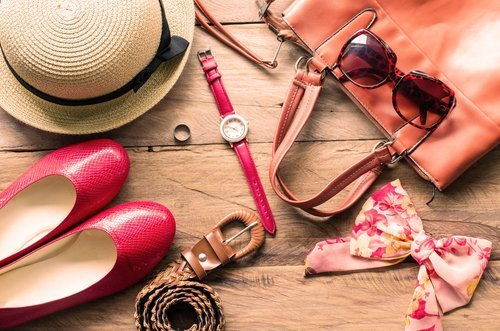 accessori e calzature donna color rosa