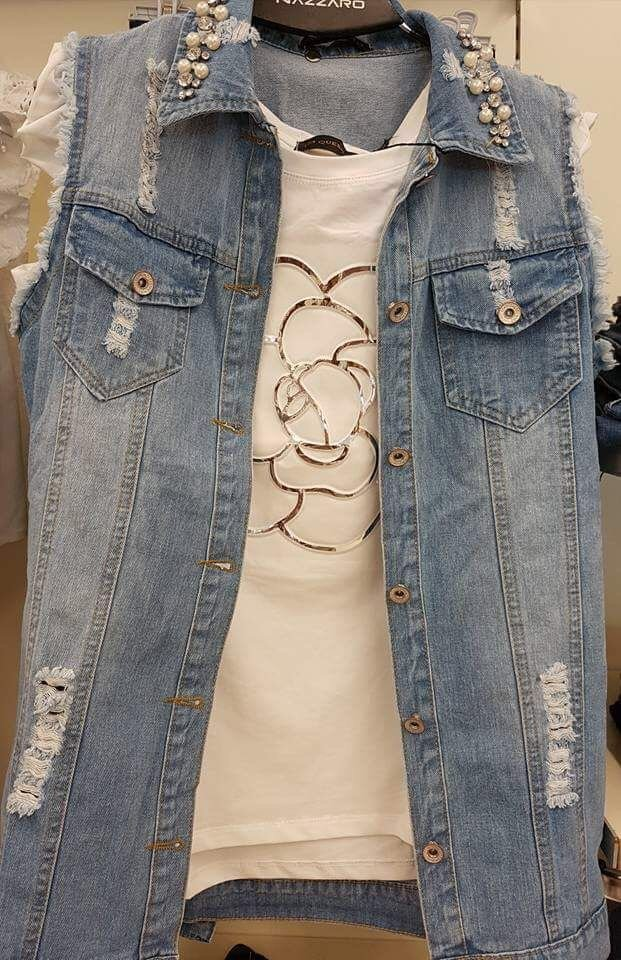 gilet di jeans