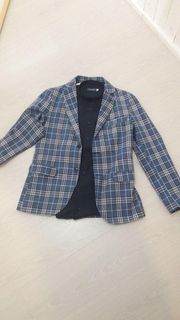 giacca da uomo quadrettata