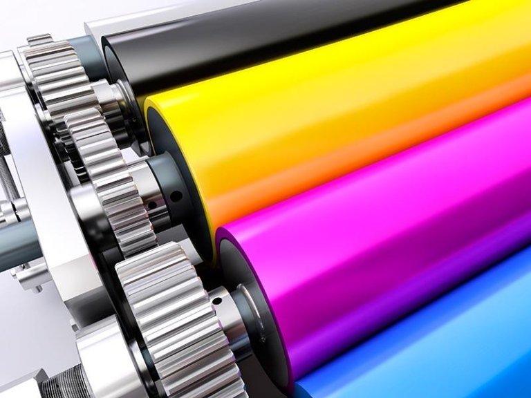 rulli per stampa digitale