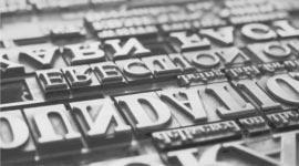 foto storica caratteri tipografici