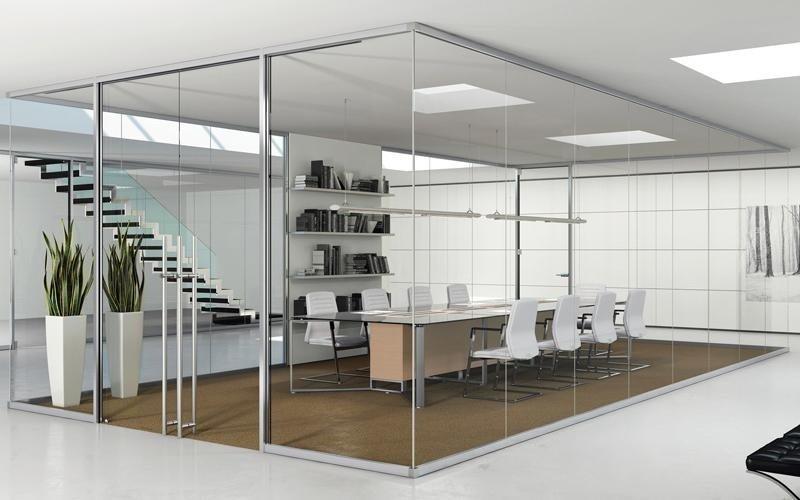 Pareti divisorie per uffici verbania alfa arredi per for Arredi per pareti