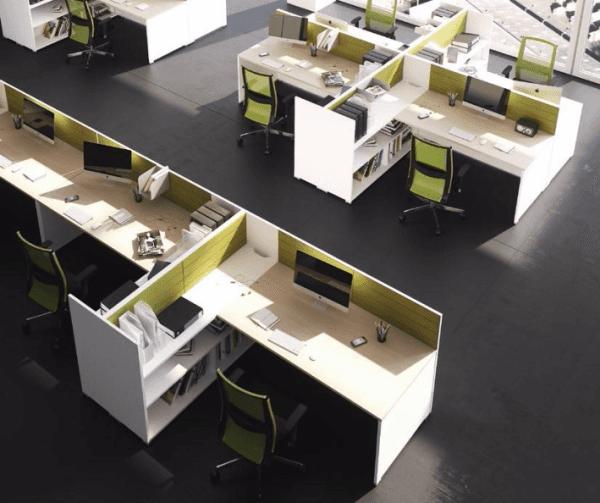 Sedie e scrivanie operative