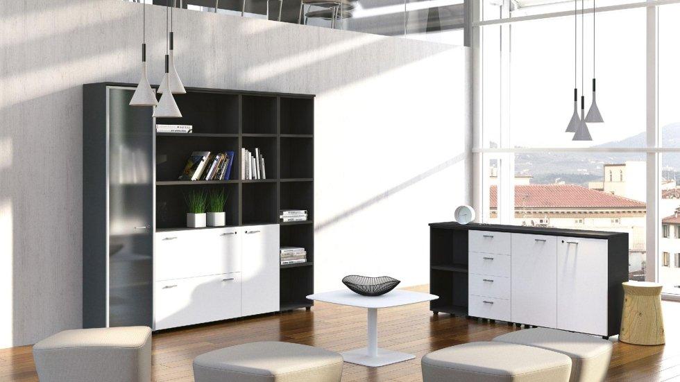 Armadi e scaffali per uffici e magazzini arona alfa for Magazzini mobili
