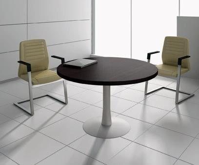 Tavolo riunioni tondo oxi