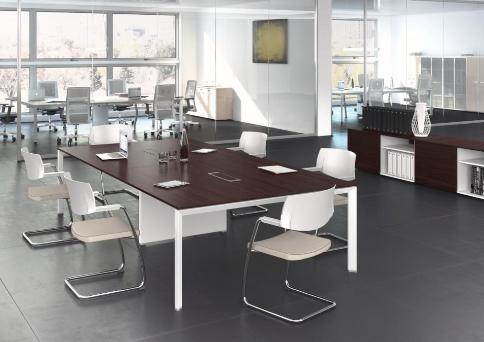 Tavolo riunione componibile