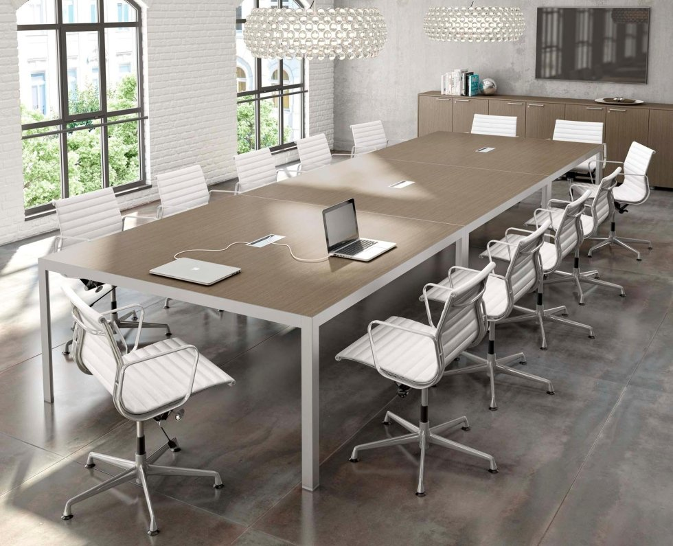 Tavolo riunioni componibile us