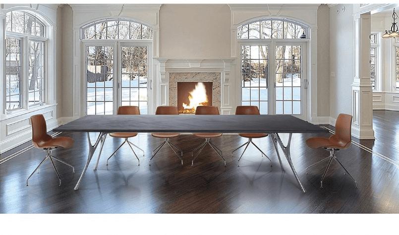 Tavolo riunione cemento