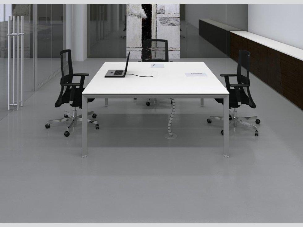 Tavolo riunione quadrato 5