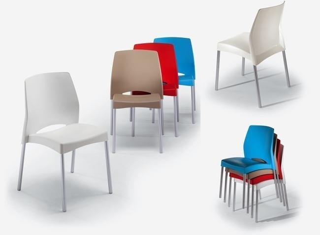 sedie impilabili per comunità