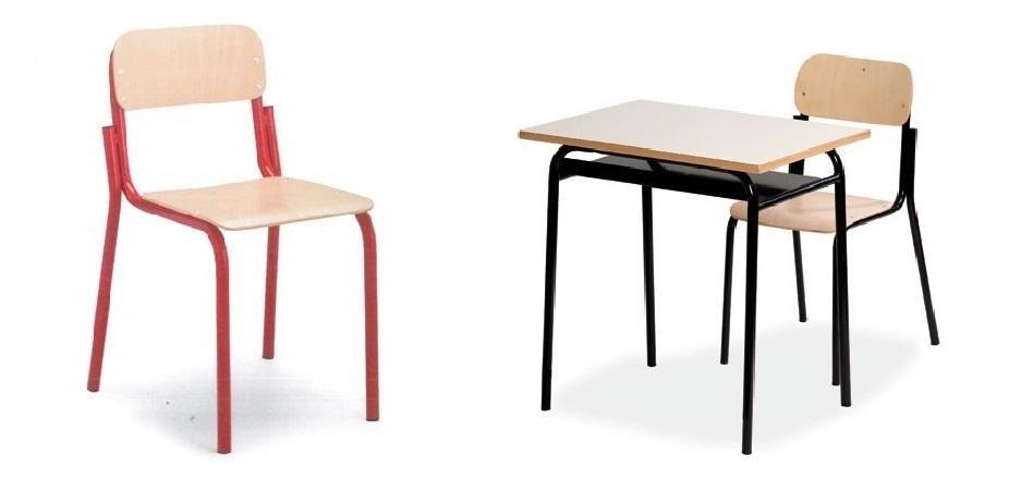 banchi e sedie in faggio