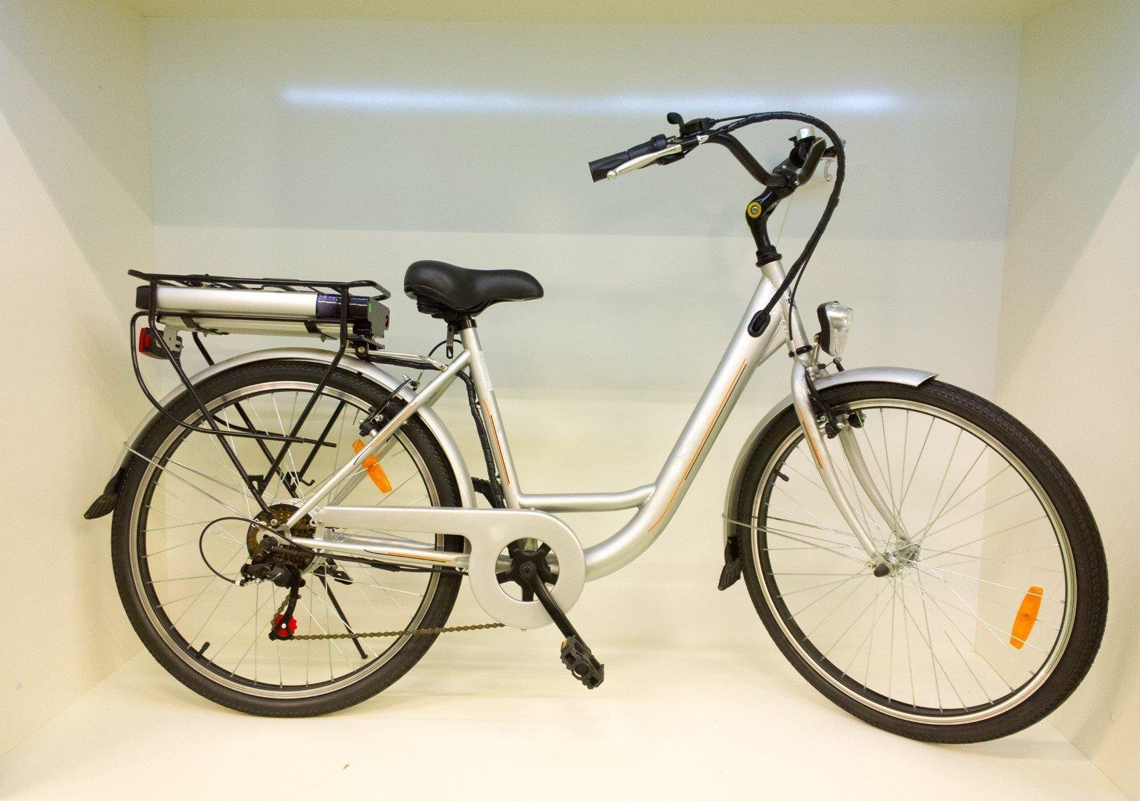 una bicicletta elettrica