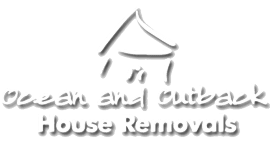 Ocean And Outback House Removal Logo