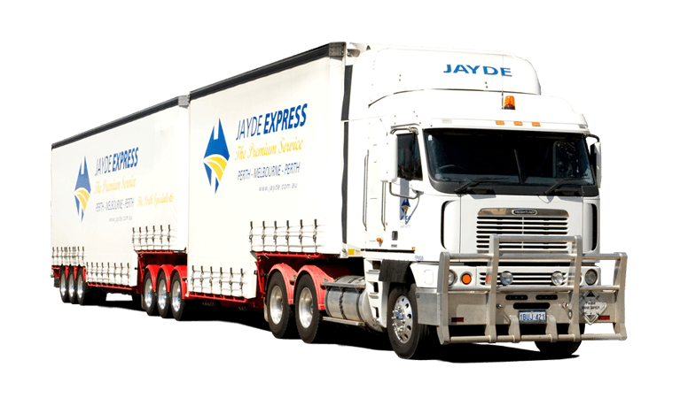 Truck used for our interstate transport services in Australia