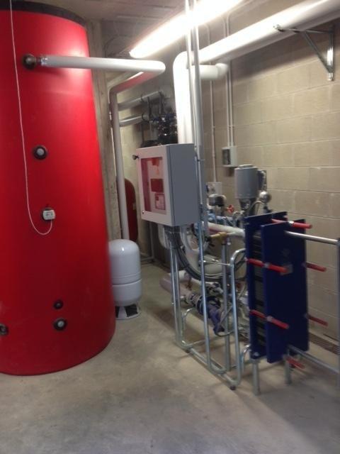 Centrale termica e idrica Condominio Valsolda