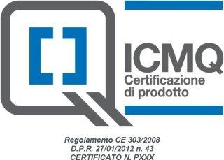 marchio di conformità I.C.M.Q. spa