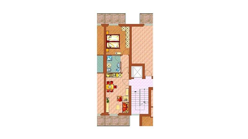una scheda tecnica di una casa