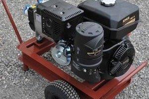 generatore di corrente, avviamento elettrico, Micro Generatore Idroelettrico
