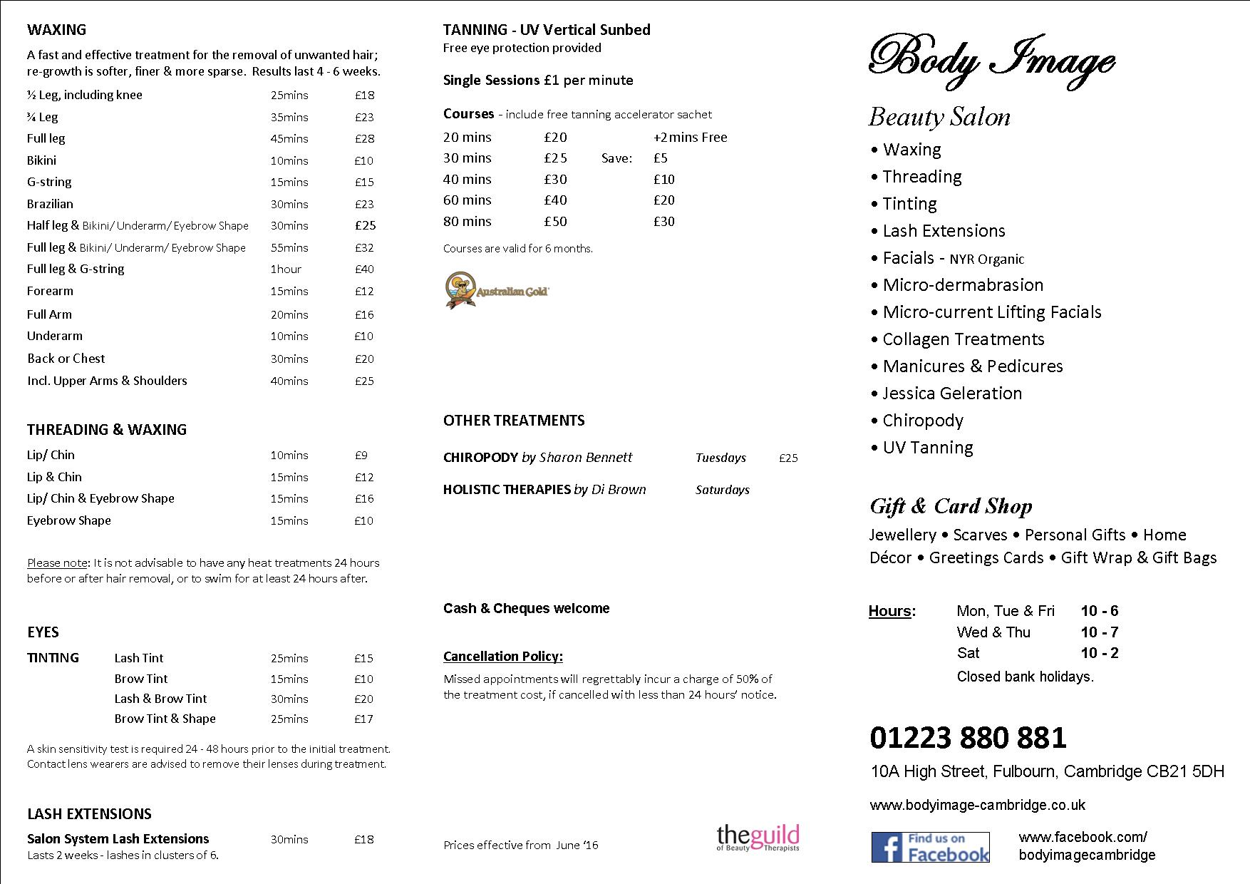 Price-List-Beauty-Image-Cambridge-Price-2