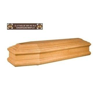 cofano in legno liscio