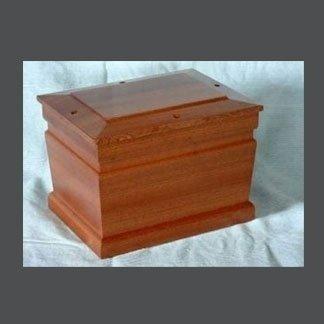 urna legno scuro