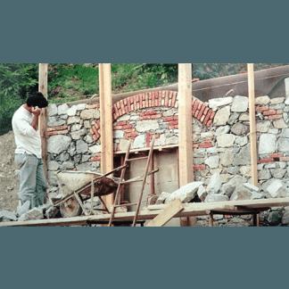 muratura, muretto in pietra savona
