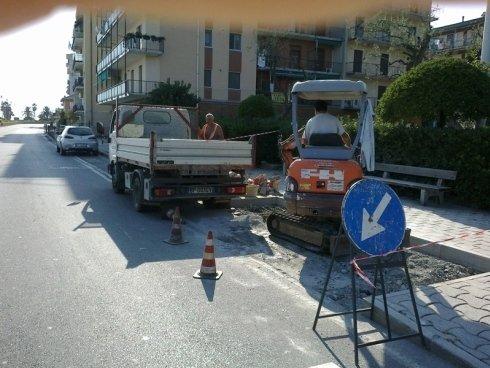 Lavori stradali pubblici