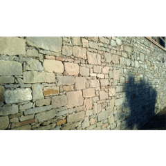 muratura, muretto in pietra a secco