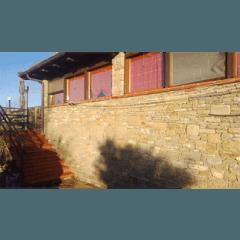 muratura, esterno con pietra a vista