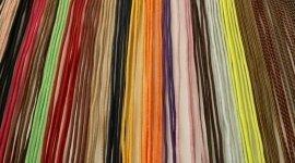 tessuto, nastri colorati