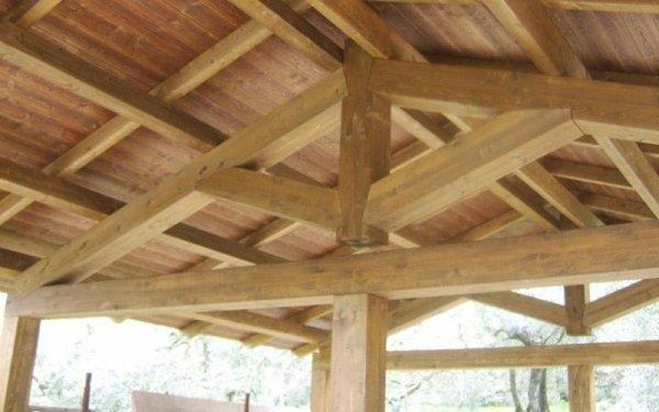 Realizzazione coperture in legno