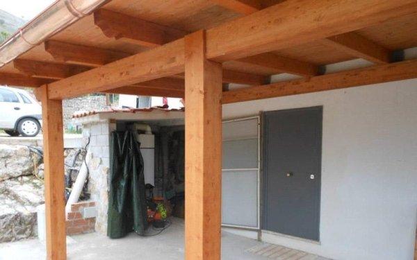 Costruzione porticati in legno