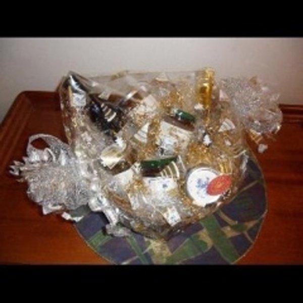 idea regalo con bottiglia di vino