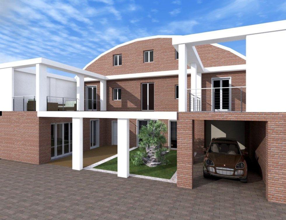 Progetti interni vendita villa Novara