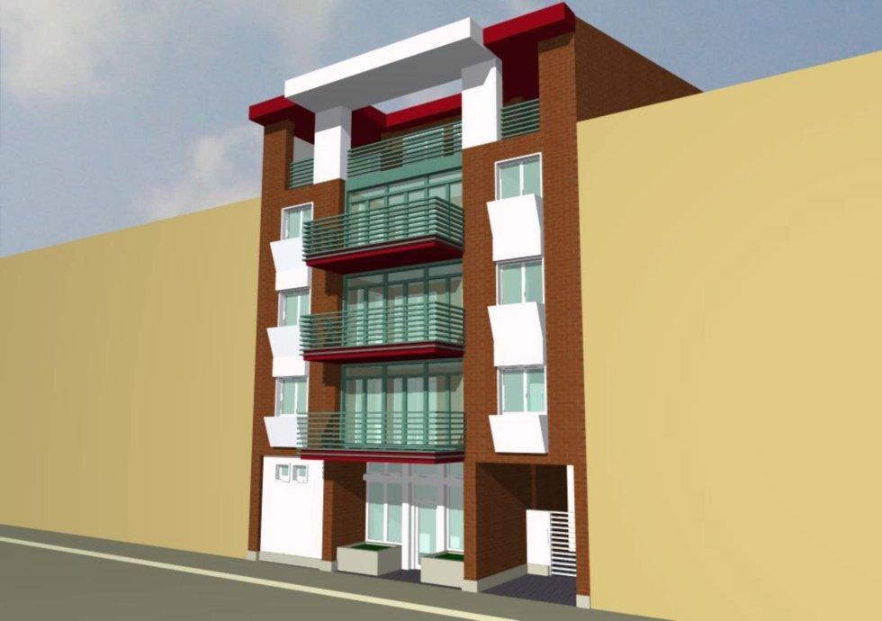nuovi appartamenti - vista laterale