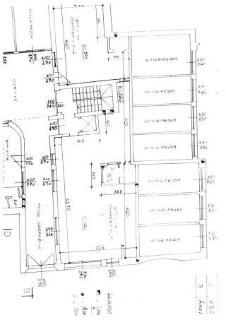 piantina immobile negozio in vendita