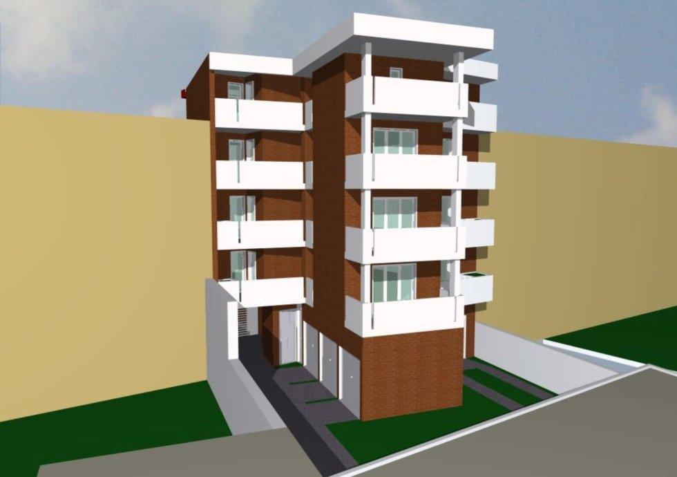 nuovi appartamenti - vista retro