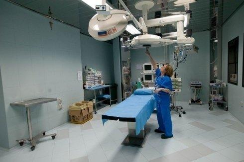 sala operatoria attrezzata