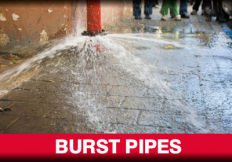 r w jones plumbing pty ltd burst pipes