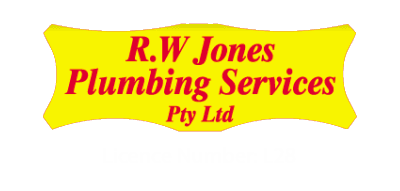 r w jones plumbing pty ltd business logo